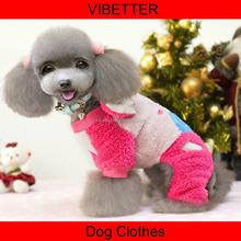 GYF-028 Pet Designer Dog Clothes Coat Puppi Jacket Snowflake Deer Clothing Dog Clothes Wholesale Puppy