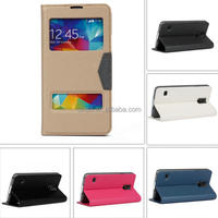 New View Leather Side Flip Wallet Cover Case For Samsung Galaxy S5 SV G900
