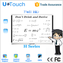 Single led touch or multi led touch with interactive displays
