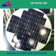 75W round solar panel, special solar panel, according to customer's requirement