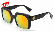 Europe restores style half frame pc sunglasses big frame fashion sun glasses