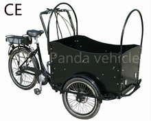 CE new trend electric cargo bike with 3 wheel cargo bicycle