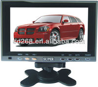 """Low price and good quality 7"""" stand alone LCD Monitor with TV"""