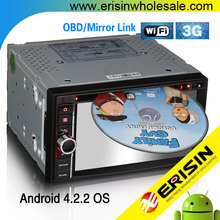 "Erisin ES9006A 6.2"" Autoradio 2 Din Android Car DVD Player"