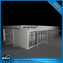 Customization Size Walk In Cooler With Double Painted Color Steel