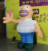Customize advertising promotional inflatable costumes/cartoon characters