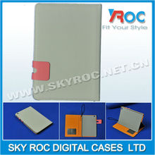 leather case with card slots belt clip case for ipad mini