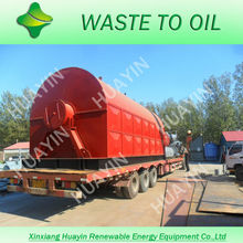 pyrolysis oil machine converting waste to fuel energy