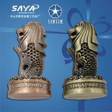 Lion souvenir metal figurine for decoration