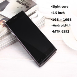 5.5 inch QHD IPS screen MTK6592 eight core 16GB ROM Android 4.4 mobile phone