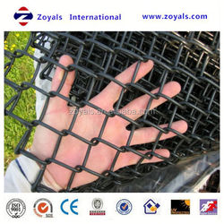 Reliable Supplier ISO 9001:2008 pvc chain link dog kennel/ pvc chain link fence made in china