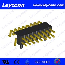 2.0mm Pitch Double Row surface mount right angle pin header connecter alibaba made in China