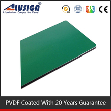 Alusign 2015 newest internal wall cladding systems light reflection aluminum composite panel