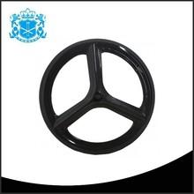3 tri spoke 23 width china 700c bicycle carbon disc wheels