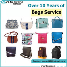 Guangzhou Custom Handmade Leather Men and Lady Fashion Bag Manufacturer with Agent
