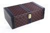 Leather Wine Case. Leather Wine Carrier. Stand Leather Wine Box