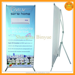 poster display stand,cosmetic display stand, X display banner for advertising