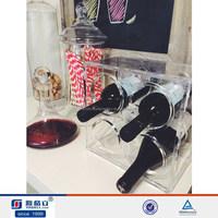 Manufacturer Supplies Attractive Acrylic Wine Bottle Display