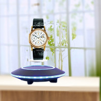 Max load 500 auto free rotation UFO base magnetic floating display home appliances gift items