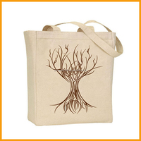 2015 Wholesale Reusable Eco Friendly Tote Canvas Shopping Bag