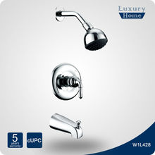 American hot selling upc lead free motion faucet shower set
