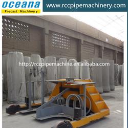 Double-position vertical vibration concrete pipe making machine, rcc spun pipes