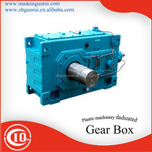 Hollow output shaft SJF Plastic machinery dedicated industry gearbox/Square reducer