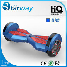 8 inch with LED Light bluetooth 2 wheel electric scooter/electric scooter self balancing