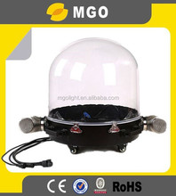 DMX plastic dome moving head rain cover for stage light