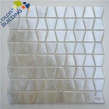 Trapezoid Shape Mosaic New Style Tiles Net Backed Mosaic Tiles