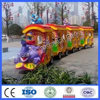 2015 new amusement park ride trackless elephant train