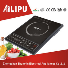 Low energy consumption one plate schott ceran induction cooker manual/electric hot plate/induction stove