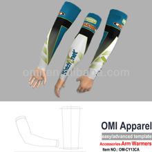 la costumbre calentadoresaccesoriosciclismo manga del brazo enfriador de ciclismo brazo térmico calentadores calentadores de bra