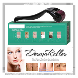 World famous new invention for skin hair body care OEM titanium derma rollers