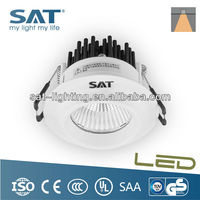 CE TUV Listed 12W COB LED Auto Light Recessed Downlight