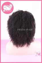 Design Crazy Selling afro kinky curly lace wig in color 613