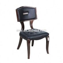 white high glossy bent wood u shape dinging chair