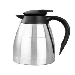 stainless steel thermos flask with LFGB test/vacuum jug/turkish coffee pot