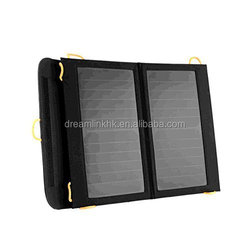 Durable Portable Solar Rechargeable Bag Compatible with GPS Units, iPhone, iPad, Samsung, LG
