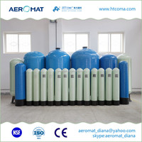 Water Filter FRP Fiberglass Pressure Tank ultrafiltration system for house