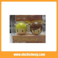 PVC Cartoon Mobile Phone Dust Plug Cute Promotional Phone Plug