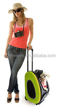 3 wheels pet stroller carrier