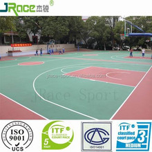 good quality plastic outdoor sports floors