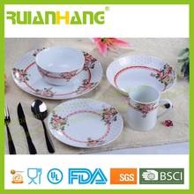 Antique style dinnerware sets ceramic, european style porcelain dinnerware set