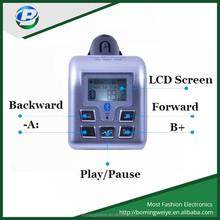 good quality car kit bluetooth mp3 player with fm transmitter SD MMC USB