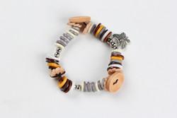 environmental attractive buttons bracelet