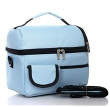 600D polyester luxury material ice bag 8L Double layer ice bag mother man cooler lunch bag