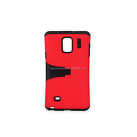 Hot selling 2 in 1 phone case cover for Samsung note 4