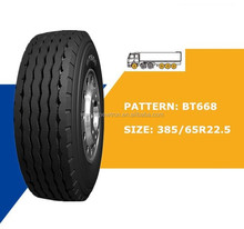 Trucks for sale china wholesale 385/65r22.5 BT668 truck tyre