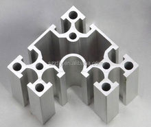 anodized T-slotted aluminum profile / aluminum chanel profiles alloy 6063 /6061 Temper T5/T6